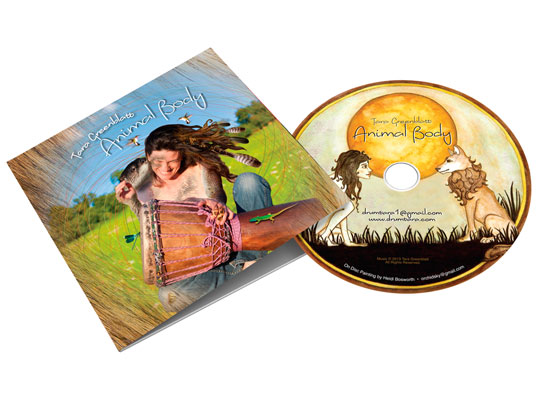 CD Package for Tara Greenblatt Band by Wetherbee Creative