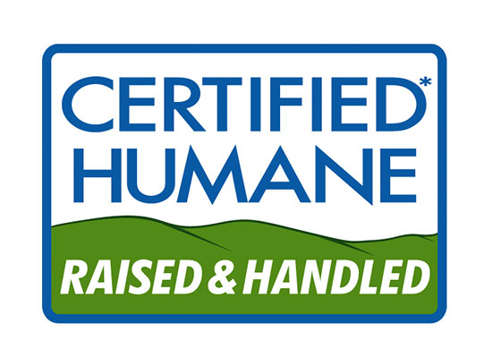 Certified Humane Raised & Handled Logo / Label for Humane Farm Animal Care created by Wetherbee Creative wetherbeecreative.com