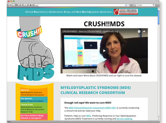 CRUSHMDS Logo and Website Development by Wetherbee Creative