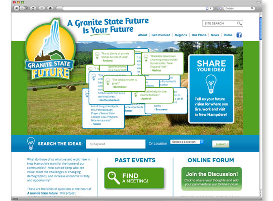 Granite State Future Website and Brand - by WetherbeeCreative.com