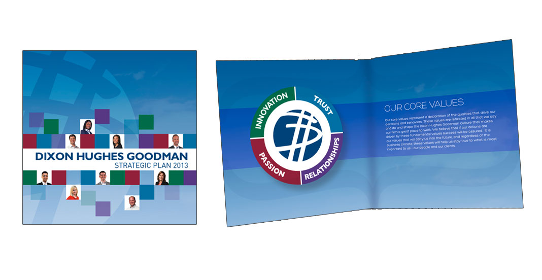 Dixon Hughes Goodman Internal Brochure by Wetherbee Creative