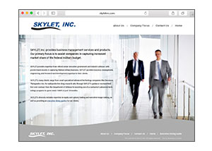 Skylet.com Website Redesign by Wetherbee Creative 2016