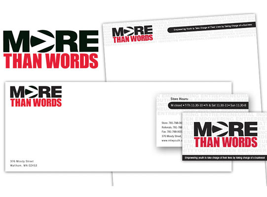 Wetherbee Creative, Our Work with More than Words, Website Design and Development, Outreach, Branding and Logo Design